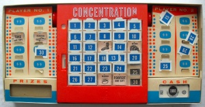 Concentration by Milton Bradley